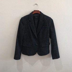 BANANA REPUBLIC gray school boy blazer